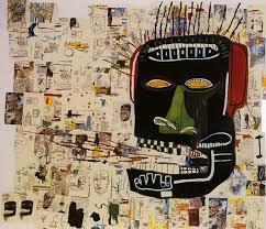 Glenn - Jean-Michel Basquiat - WikiPaintings.