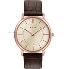 "men s bulova ultra slim watch 97a126 watch shop comâ""¢ mens bulova ultra slim watch 97a126"