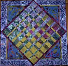 convergence quilts - Google Search | Quilts | Pinterest | It is ... & Celtic Convergence: The base of this quilt is from Ricky Tims' Harmonic  Convergence pattern. I added some Celtic knotwork to it. Adamdwight.com