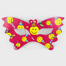 Mask Decorating Supplies Birthday Party Decorations Kids Girl Baby Happy Birthday Party 17