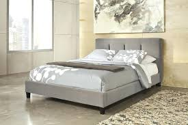 Wood And Upholstered King Bed Upholstered Bed With Wood Frame Romeo