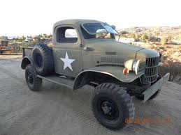 Sell used 1941 dodge WC1 1/2 ton 4x4 pickup truck closed cab power ...