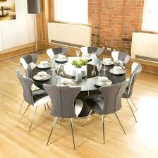 large round dining tables luxury large round black oak dining table lazy chairs b large round