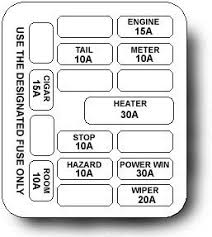 mx 5 unleashed electrical help diagrams 1999 Miata Fuse Box Diagram miata fuse diagream 92 Miata Fuse Box Diagram
