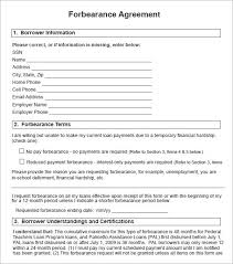 Annual Leave Template Form Of Mortgage Note Sample Forbearance Sddf Us