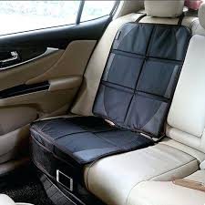 universal baby car seat cover luxury leather protector child or easy clean safety anti slip