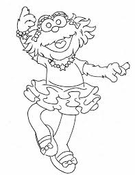 Small Picture Printable 56 Sesame Street Coloring Pages 2177 Sesame Street