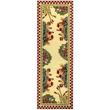round rooster rugs sunflower