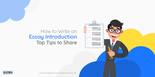 How To Write An Essay Introduction Top Tips To Share