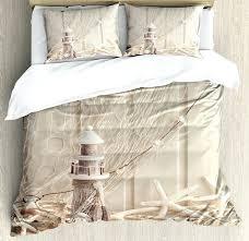 marine bedding set fishing net decor duvet cover set marine theme sea stars and s underwater