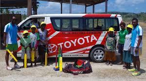 asco motors cricket i blong evriwan visits north efate sports dailypost vu