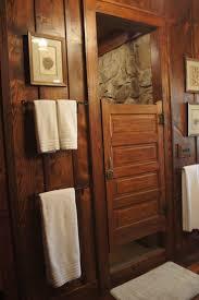 Cabin Bathroom 17 Best Ideas About Cabin Bathrooms On Pinterest Rustic Shower