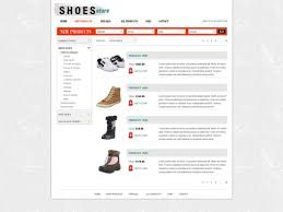 shopping cart web free shopping cart website template online store templates