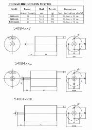 Motor Shaft Size Chart 5mm Shaft 1112kv Feigao 540xl Series Brushless Motor Tyep