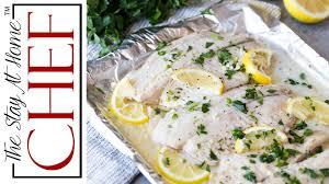 how to make baked lemon garlic tilapia