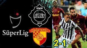 Altay 2-1 Göztepe Maç Özeti   S