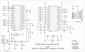 usb to rs232 schematic diagram diagram circuits gt minimum component ft232rl usb to rs232 converter cable