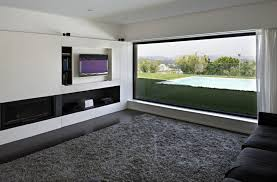 Grey Carpet Living Room Rug Placed In Modern Room With Long Sofa  In Grey  Carpet