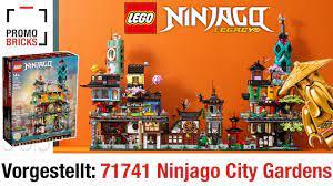 71741 Ninjago City Gardens offiziell