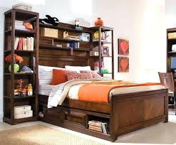full size headboard with shelves bookcase headboards for beds hanging flower color orange bookshelf bed bedroom bed with shelving