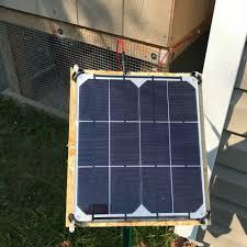 solar panel for en coop offgrid en coop
