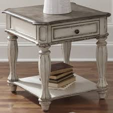 antique white sofa table. Liberty Magnolia Manor Antique White End Table Sofa