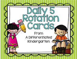 Reading Center Rotation Chart Organizing Daily 5 Literacy Stations In Kindergarten And