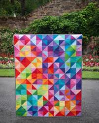 93 best Solid Fabric Quilts images on Pinterest | Contemporary ... & 'Postcard from Sweden' Quilt pattern Adamdwight.com