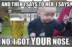 20 Hilarious, Funny, Cute Baby Meme On Internet | Reckon Talk via Relatably.com