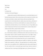 animal rights study resources 1 page animals used in research essay