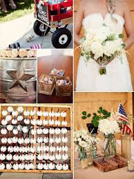 navy and red 4th of july country rustic wedding ideas #elegantweddinginvites