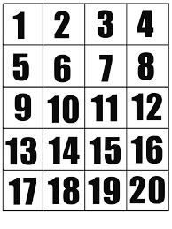 Impariamo I Numeri Da 1 A 20 Con Le Casette Mamma E Casalinga