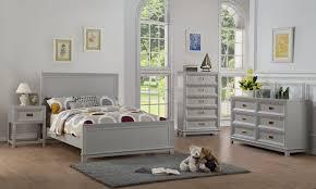 Victoria Configurable Bedroom Set, Gray Wood