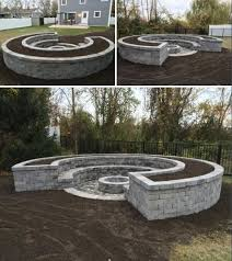 concrete fire pit in ground beautiful modern diy round concrete fire pit awesome les 568 meilleures
