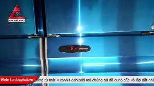 Tủ đông tủ mát 4 cánh Hoshizaki đã bàn giao và lắp đặt cho nhà hàng tại Hải  Phòng - YouTube