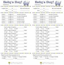 baby daily report sheet infant daily report sheet template madebyforay co