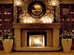 Pictures Of Decorated Fireplace Mantels  Home Decorating Decorating Ideas For Fireplace Mantel