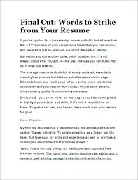 Words For A Resume Good Action Words For Resumes Flamingo Spa