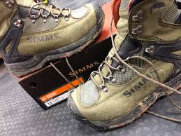 Sold Simms G3 Guide Boot Size 13 Vibram Soles Great