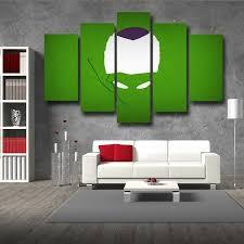 dbz evil king piccolo urban minimalist interior 5pc canvas prints wall art on urban designs canvas wall art with dbz evil king piccolo urban minimalist interior 5pc canvas prints