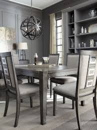 Chadoni Gray Rectangular Extendable Dining Table From Most