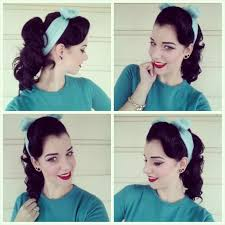 sock hop hairstyles unique 19 best s hair tutorial images on