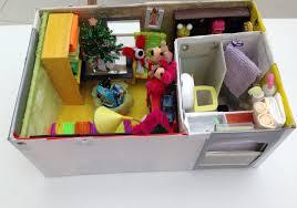 Shoebox Bedroom How To Make A Shoebox Dollhouse Youtube