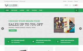 Free Bookstore Website Template Top 7 Best Bookstore Wordpress Themes For Print Ebook Sales