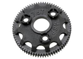 Traxxas 4676 Spur Gear 76 Tooth 48 Pitch For Models With Torque Control Slipper Clutch