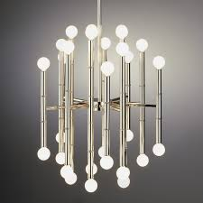 jonathan adler meurice chandelier polished nickel – clayton gray home