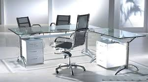 glass top office desk. frosted glass office desk tempting modern plus furniture study l shaped computer executive to apply top r