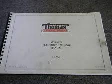 thomas manuals & literature ebay Thomas Wiring Diagrams thomas bus 1998 1999 cl960 cl 960 electrical wiring diagram manual thomas bus wiring diagrams for the alt