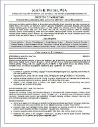 Director Of Marketing Resume Example Sample Gorgeous Marketing Director Resume