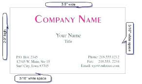 Business Card Universal Size Business Card Universal Size Images